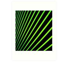 Rays. Art Print
