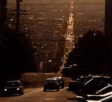 San Francisco Sunset by Stuart Jenkins