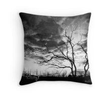 San Jacinto (Desert Sunset) Throw Pillow