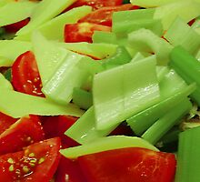 Tomato & Celery Salad by tmac