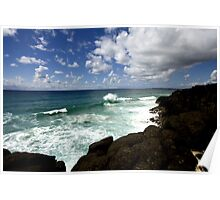 Beachscape IV Poster