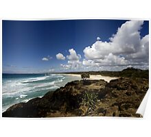 Beachscape VI Poster