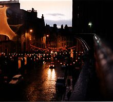 Edinburgh on New Year's Eve by pixielation