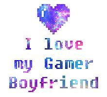Gamer Boyfriend Photographic Print