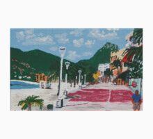 Boardwalk in Philipsburg, St. Maarten One Piece - Long Sleeve