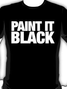 Rolling stones paint it black T-Shirt