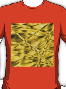 Golden-mustard cylinders T-Shirt