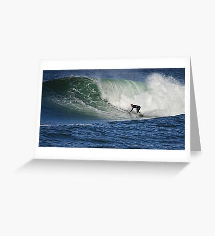 Thurso East Surfing Greeting Card