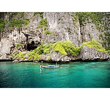 Phi Phi Paradise - Version 2 Photographic Print