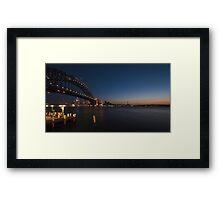 Obligatory Landscape Shot Framed Print
