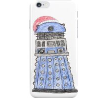 Doctor Who- Christmas Dalek w/Santa Hat iPhone Case/Skin