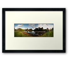 Down To The Waterline Framed Print