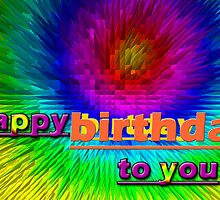 happy birthday by tulay cakir