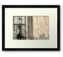 Historically Buffalo Framed Print
