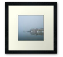 Magic Morning Stockholm Framed Print