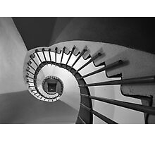 DNA Staircase Photographic Print