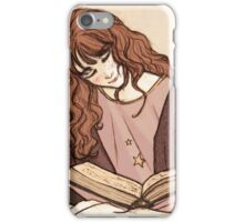 Reading before bed iPhone Case/Skin