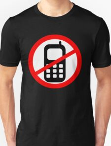 Mobile Phone Ban T-Shirt