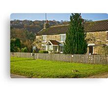 Cottages - Hutton le Hole Canvas Print