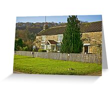 Cottages - Hutton le Hole Greeting Card