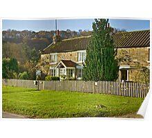 Cottages - Hutton le Hole Poster