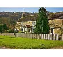 Cottages - Hutton le Hole Photographic Print