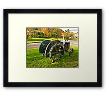 Old Fordson Tractor Framed Print
