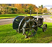 Old Fordson Tractor Photographic Print