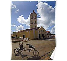 Iglesia Mayor de San Juan Bautista Poster