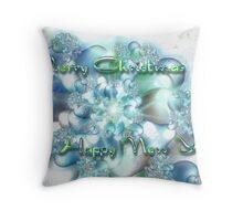 Symphony in Snow - Seasons Greetings Throw Pillow