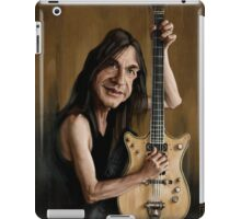 Malcolm Young iPad Case/Skin