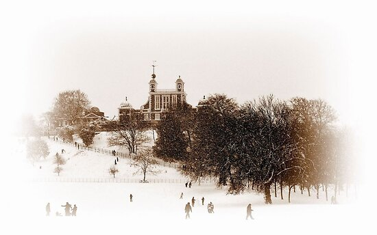 The Greenwich Observatory by Karen Martin