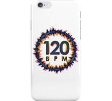 120 BPM iPhone Case/Skin
