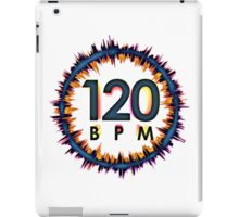 120 BPM iPad Case/Skin