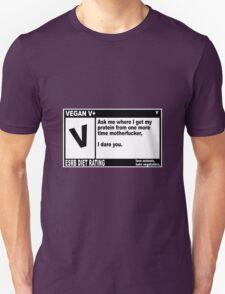 VEGAN, MOTHERFUCKER. T-Shirt