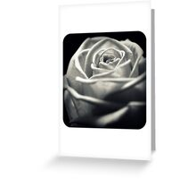 Vintage Times Rose Greeting Card