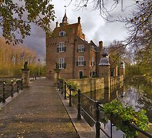 Renesse, Moermond Castle by Adri  Padmos
