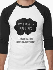 My Thoughts are Stars Men's Baseball ¾ T-Shirt