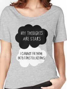 My Thoughts are Stars Women's Relaxed Fit T-Shirt