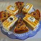 Butter appletart and Florida cake by Gilberte