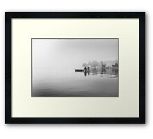 The Salt Lake Stockholm III Framed Print