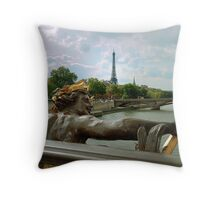 View From The Pont Neuf Throw Pillow