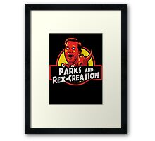 Parks and Rex-Creation Framed Print