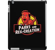 Parks and Rex-Creation iPad Case/Skin