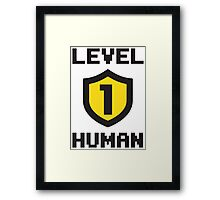 Level 1 Human Framed Print