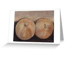 Wild Onions Greeting Card