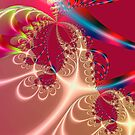 Christmas fractal by eraline