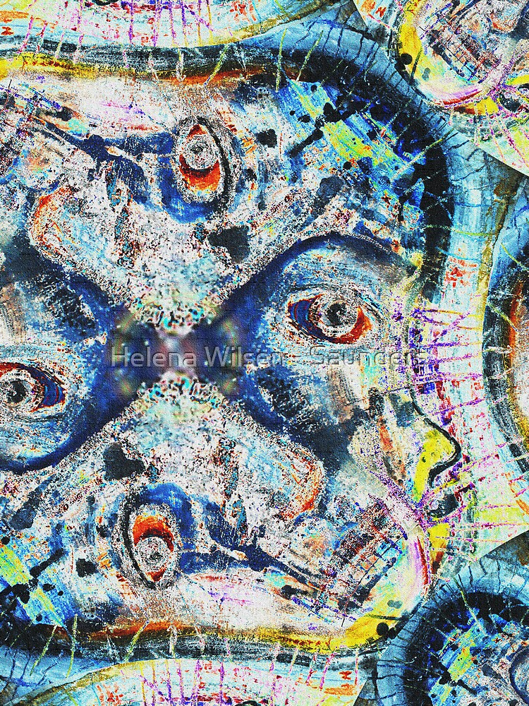 Faces by Helena Wilsen - Saunders