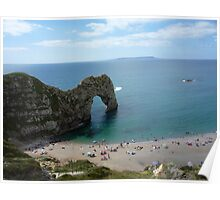durdle door shining bright Poster