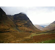 Pass of Glencoe Photographic Print